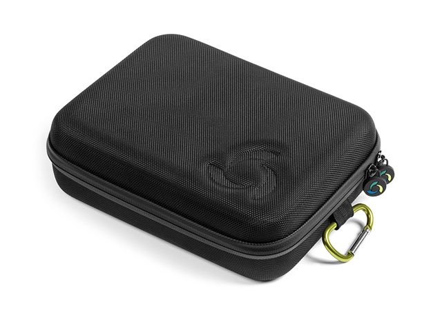 TrioSports large sp gopro pov case Waterproof Zipper with Ballistic Cover plastic handle & carabiner carrying