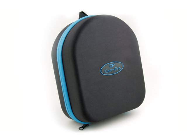 CarryPro black gopro 3 carry case with rubber patch logo matching nylon zipper S/M/L available