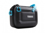 Thule black diving go pro carry case with removable die-cut foam Interior and lid pockets