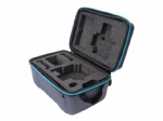 UKPro go professional pro watertight rugged case with rubber plate logo and 2 layers removable die cutting foam interior