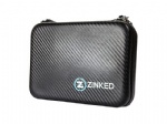 Zinked gopro camera gear accessories bag with removable wrist strap waterproof zipper closure