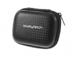Wallytech Mini gopro hard carrying case eva coated with carbon fiber free sample design